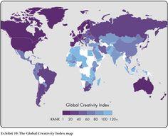 Украина заняла 45-ю позицию в глобальном рейтинге креативности | Новое Время
