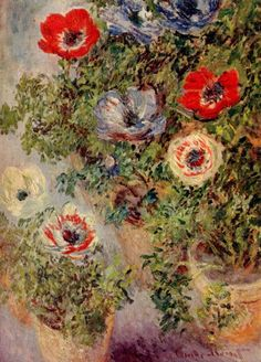 Claude Monet had a Beautiful gift of painting what ever he wanted to, but when it came to flowers or self portrait he was amazing at it!.. Claude Monet