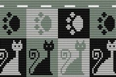 Bead Crochet Rope, Tapestry Crochet, Afghan Crochet Patterns, Cross Stitch, Embroidery, Knitting, Crochet Pouch, Diy And Crafts, Crafts