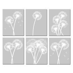 Modern Dandelion Prints