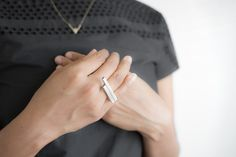 Overlap Ring | By Adriatic Jewelry