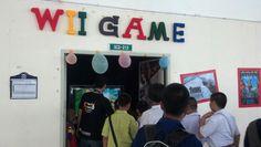ห้อง Wii Game ช่วงเที่ยงเด็กๆสนใจเยอะมาก