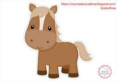 Mamá Decoradora: Kit Imprimible La Granja Gratis Farm Animal Birthday, Cowgirl Birthday, Farm Birthday, Birthday Party Themes, Party Cartoon, Crochet Horse, Party Fiesta, Baby Sheep, Farm Party