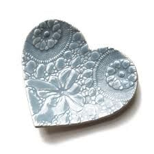 Image result for lace pottery ideas