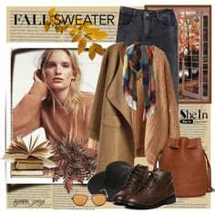 How To Wear Knit Sweaters With Wide Pants