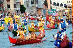 Historic Regatta ,Venice