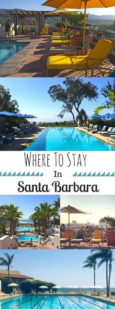 From resorts to retreats and hotels to hideaways, Santa Barbara offers visitors a variety of accommodation options to fit any budget. Whether you want to splurge, spend or save, these are the top places to stay in Santa Barbara: