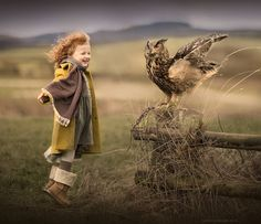 This reminds me of me. Fascinated with animals and longing to fly.