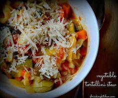 Vegetable Tortellini Stew