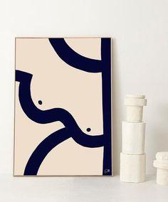 Caroline Walls Feminine Prints and Paintings – Inattendu Illustrations, Illustration Art, Ink Painting, Limited Edition Prints, Diy Art, Art Inspo, Home Art, Print Patterns, Original Artwork