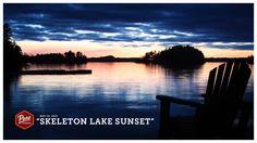 There's nothing like a Muskoka sunset. #PureMuskoka #Muskoka #SkeletonLake