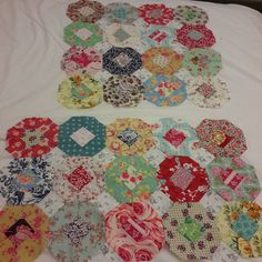 Stitching Emma Mary Quilt