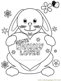Easter Coloring Pages   free printable coloring page Easter Coloring Page 25 (Entertainment ...