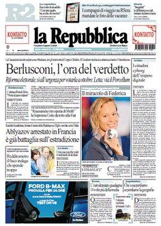 La Repubblica - 01.08.2013  Italian | True PDF | 48 Pages | 27 MB