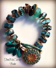 BEADS & THREADS - Home...Boho Bracelets & Necklaces