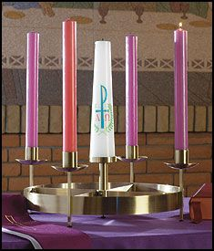 Lutheran Wreath Beads | Large Table Advent Wreath