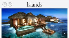 Sandals Montego Bay Jamaica  Adding these new floating cabanas with glass floor inside and private infinity pool