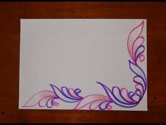 File Decoration Ideas, Page Decoration, Boarder Designs, Page Borders Design, Cover Page For Project, Front Page Design, Birthday Card Drawing, Notebook Cover Design, Design Art Drawing