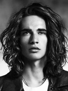 Favorite style for men's longer hair.