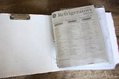 somewhat simple:organizing manuals and warranties