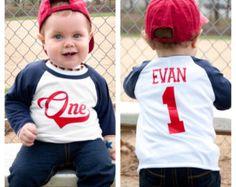 Boy's Birthday Baseball Shirt Birthday Boy by FashionistaStylez