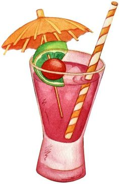 Mis Laminas para Decoupage (pág. 436) | Aprender manualidades es facilisimo.com Holiday Cocktails, Cocktail Drinks, Gelato, Coffee Cupcakes, Food Clipart, Cream Candy, Emoji Love, Food Drawing, Food Illustrations