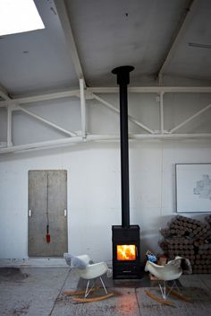 Log burner as focal point?  Enough space?