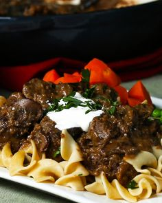 Beef Stroganoff Recipe by Tasty