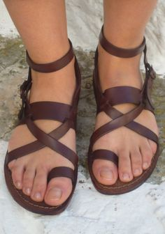 Gladiator Sandals Heels For Women Gladiator Sandals Heels, Sexy Sandals, Greek Sandals, Leather Sandals, Crazy Shoes, Me Too Shoes, Womens Slippers, Ladies Slippers, Man Fashion