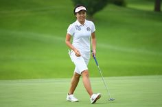 Pei-Ying Tsai Photos Photos - Pei-Ying Tsai of Taiwan smiles during the second round of the Samantha Thavasa Girls Collection Ladies Tournament 2016 at the Eagle Point Golf Club on July 16, 2016 in Hokuto, Japan. - Samantha Thavasa Girls Collection Ladies Tournament 2016 - Day 2