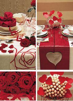 Bianco e rosso, per una tavola appassionata