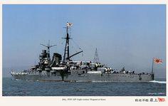 HIJMS Mogami in 1935. 軽巡洋艦「最上」