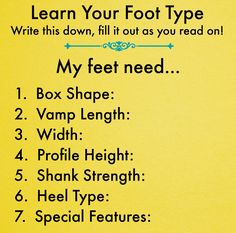 Learn Your Foot Type  I disagree with only a little of this... (mostly about the shoe strength comments on the photos... the girl's feet are too weak for the Grishkos, but also too weak for the Gaynor Minden pro-flex... (if they were strong, she would have been able to support herself  better!)... but the point is still true, that there is a weakness and she needs more support than the shoe can give her.   It is worth looking through to get a sense of what a good fitter is considering.
