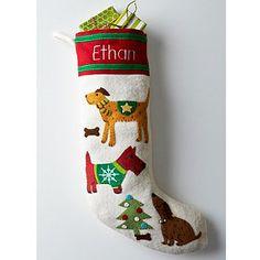 Dog Pound Holiday Stockings
