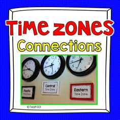 #FREE Morning Message - Telling Time, Tips and Resources for Teaching Time and Time Zones #TPT #Free #Teach123