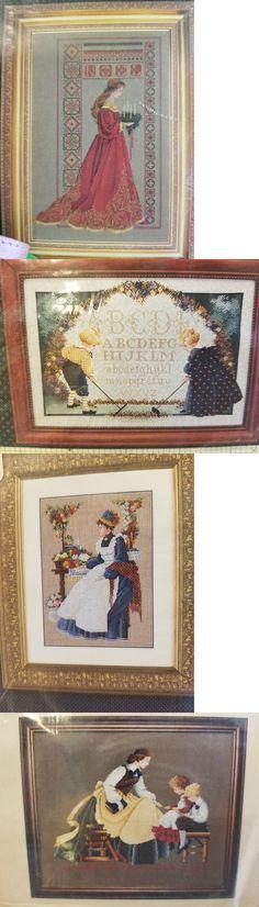 Cross Stitch Patterns 34032: Lavendar And Lace, Butternut Road Pattern Lot -> BUY IT NOW ONLY: $50 on eBay!