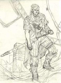 Got older sketches by Marko Djurdjevic? PLZ SHARE!!!