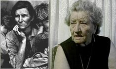 'I never lost hope': Startling interview unearthed with woman behind iconic Great Depression image talking just five years before her death in 1983. FLORENCE LEONA THOMPSON Migrant Mother – A Legend of the Strength of American Motherhood.'