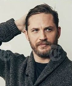 Tom Hardy  in Midtown Manhattan in December 2016. Credit: Andrew White for The New York Times