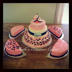 cake gumpaste baby booties so cute ruth s creative cakes worcester ma ...