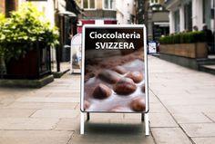 Cavalletti bifacciali, espositori pubblicitari online personalizzati