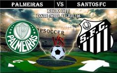 Palmeiras vs Santos FC 13.07.2016 Free Soccer Predictions, head to head, preview, predictions score, predictions under/over Brazil: SERIE A