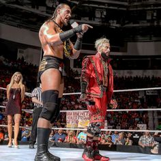 "Enzo Amore Wearing the ""Flu Game"" Air Jordan 12"