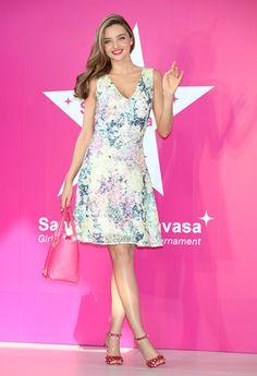 Best Dressed This Week: 26/07/13   Miranda Kerr wearing Erdem at the Samantha Thavasa Ladies Tournament   styloko.com