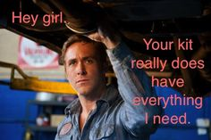 Stage Manager Ryan Gosling; Stage manager kit. I'm a theatre nerd. :-)