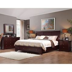 Costco: Grande Sleigh 6-piece Cal King Bedroom Set. For the future ...