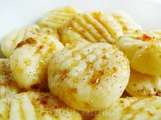 Gnocchi serowe na słodko - Gnocchi serowe na słodko