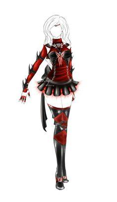 outfit design senshi fuku36closed by lot