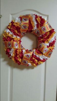 Chiefs Felt Wreath