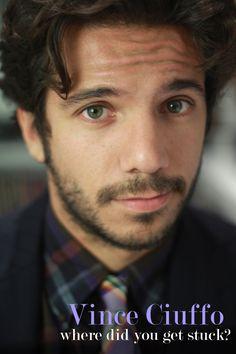 Vincenzo Alfieri aka Vince Ciuffo of STUCK - the chronicles of David Rea #stuckwebseries